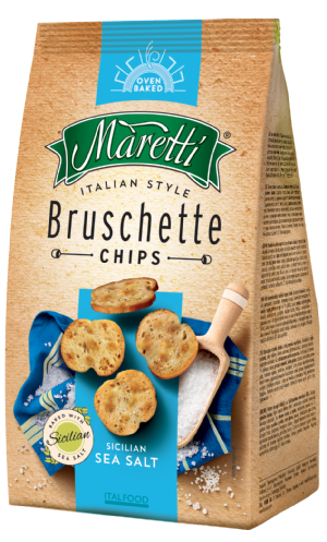 Bruschette Sicilian Sea Salt 70g